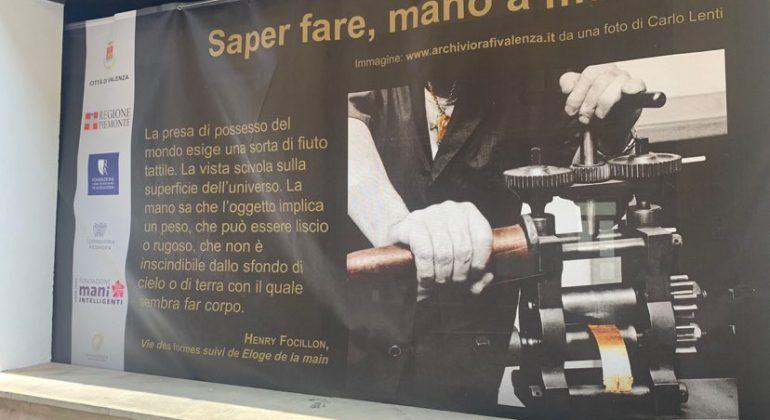 Maxi foto a Valenza per mostrare il talento orafo e recuperare zone della città aspettando il museo dell'oro