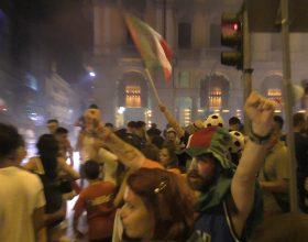Esplode la gioia ad Alessandria per la vittoria dell'Italia agli Europei di calcio