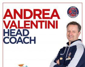 Andrea Valentini confermato Capo Allenatore della Novipiù J Basket Monferrato