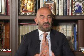 """Professor Bassetti su La7: """"Contestato dai no vax a Novi, sono intervenuti dieci poliziotti"""""""