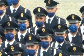 Il giuramento del 212esimo corso Allievi Agenti della Scuola di Polizia di Alessandria
