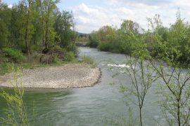 Maltempo: Acqui Terme attende la piena del Bormida. Chiusa la pista ciclabile