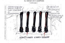 Le vignette di luglio firmate Ezio Campese