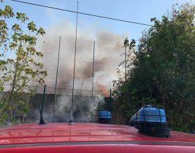 La ricostruzione dell'incendio alla discarica di Castelceriolo