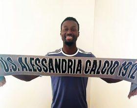 Il centrocampista Abou Ba è un nuovo giocatore dell'Alessandria Calcio