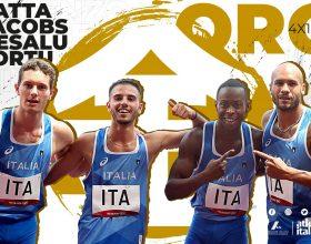 L'Italia con Marcell Jacobs vince l'oro nella staffetta 4×100