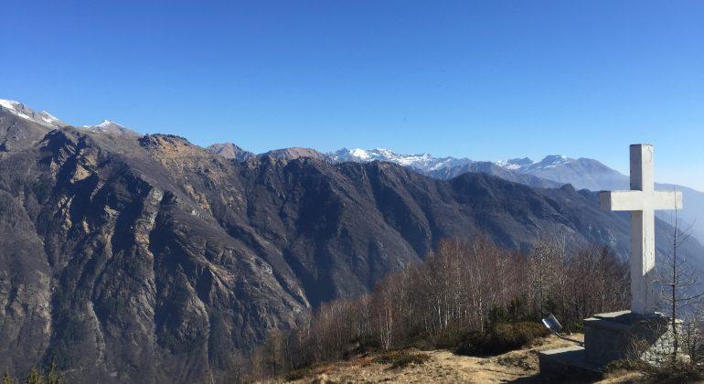 A spasso per il Piemonte: il sentriero della Croce del Faggio in Valle Orco