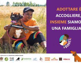 """Dog sitter migranti e i cani di Cascina Rosa protagonisti della campagna """"Adottare è accogliere"""""""