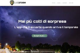 In Piemonte ecco Livestorm, l'applicazione che segnala i temporali in arrivo