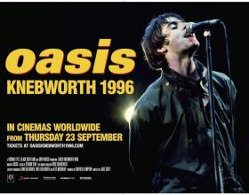 """Dal 27 settembre nelle sale italiane il film """"Oasis Knebworth 1996"""""""