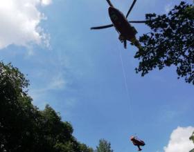 Si infortuna durante un'escursione: recuperata dal 118 e dal soccorso alpino