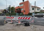 Già fuori uso il semaforo installato a San Michele