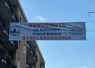 """""""Benvenuta StrAlessandria"""": anche uno striscione per la """"prima volta al Cristo"""" della corsa solidale"""