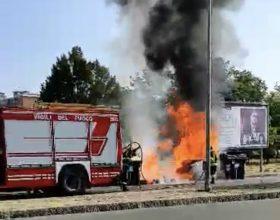 Altro incendio di cassonetti ad Alessandria