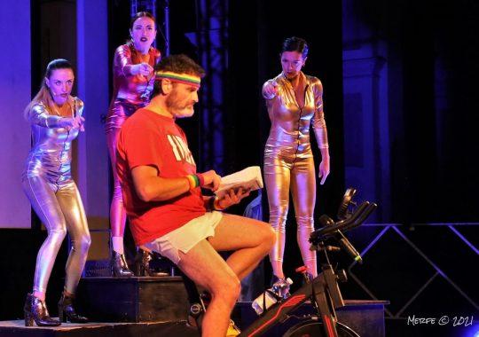 """Il 18 settembre """"Pedalando verso il paradiso"""" al Teatro Soms di Bistagno"""
