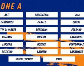 Serie D: stabilito il girone dove giocheranno Derthona e Casale