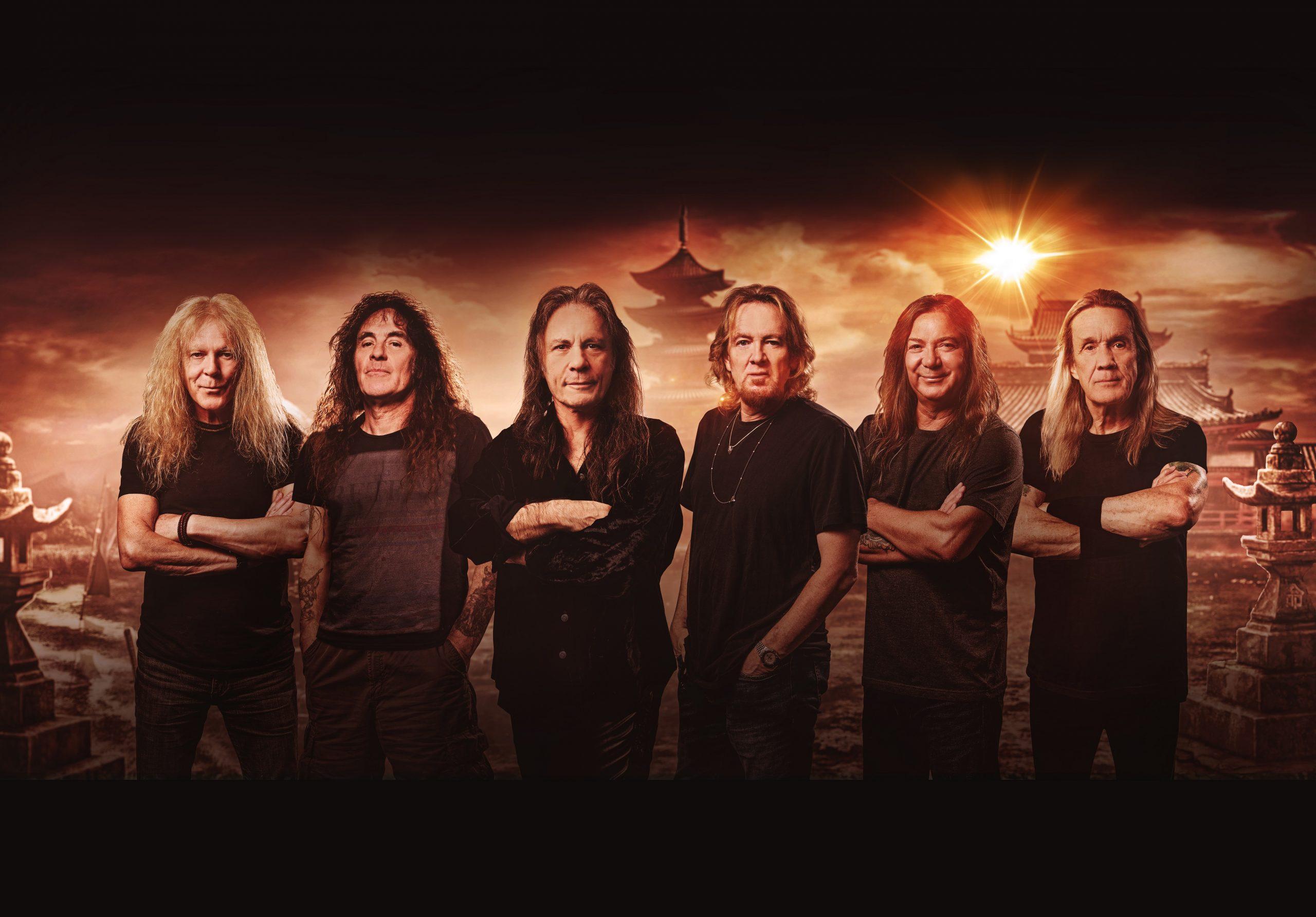 """Iron Maiden al n.1 della classifica con il nuovo album """"Senjutsu"""""""