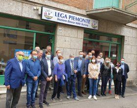 """A Castelnuovo Scrivia inaugurata la nuova sede della Lega. Molinari: """"Siamo il partito della gente"""""""
