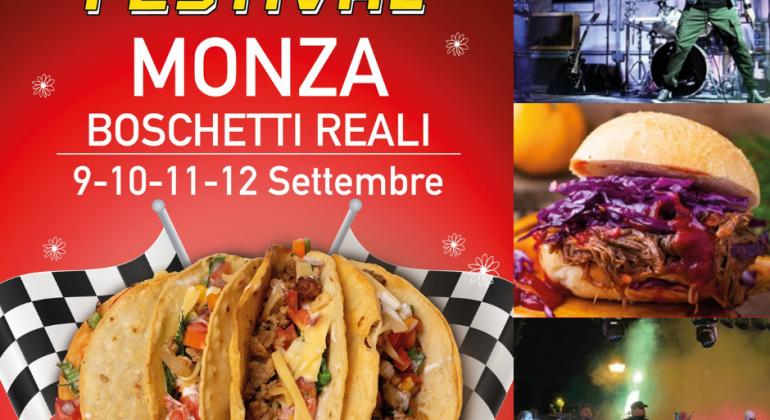 Street Food Fuori GP Monza: dal 9 settembre ai Boschetti Reali