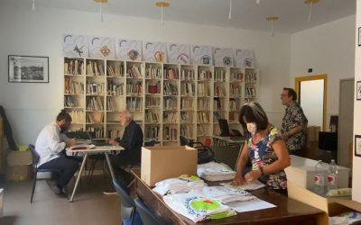Nella nuova sede di Ics, dove anche i muri raccontano la storia della StrAlessandria