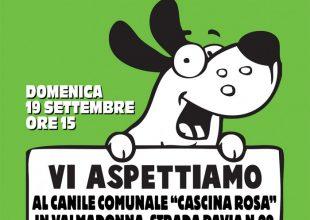 """Il 19 settembre """"Festa a 4 zampe"""" al canile """"Cascina Rosa"""""""