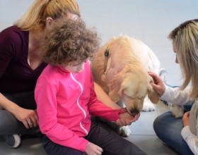 La storia di Martina, guarita grazie alla dolcezza di un cane