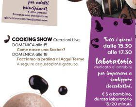 Il 2 e 3 ottobre Choco Acqui, la festa del cioccolato ad Acqui Terme