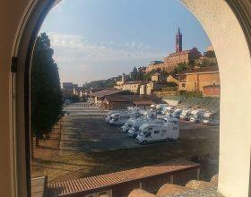 A Fubine 40 camper di turisti da tutta Italia per visitare il paese e il territorio