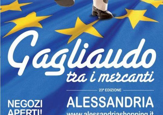 """Il 18 e 19 settembre ad Alessandria torna """"Gagliaudo tra i mercanti"""""""