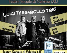 Luigi Tessarolo Trio venerdì 1°ottobre al Teatro Sociale di Valenza