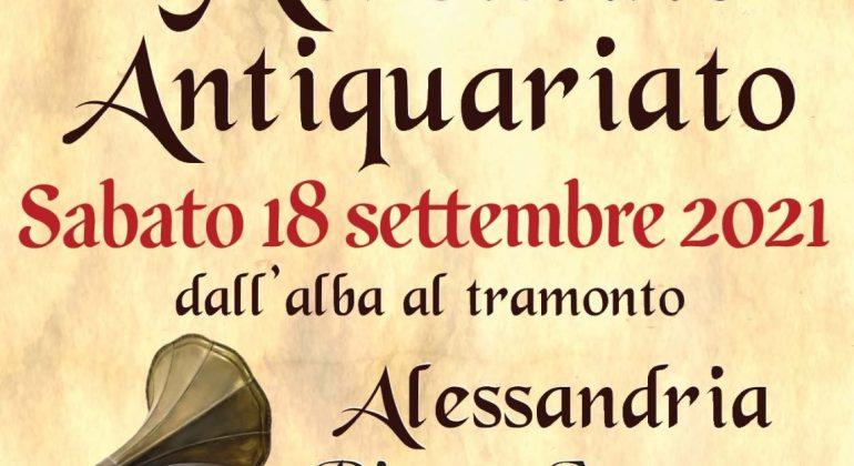 Sabato torna il Mercatino dell'Antiquariato in piazza Campora, al quartiere Cristo