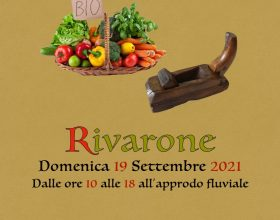 Domenica 19 settembre mercatino biologico e dell'artigianato a Rivarone