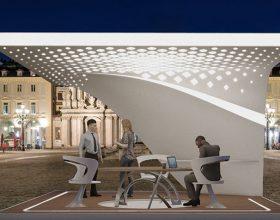 Un giovane architetto alessandrino vince il concorso di Pininfarina con un padiglione camaleontico