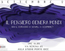 Il Pensiero Genera Mondi: ad Alessandria un evento tra arte, cultura e musica