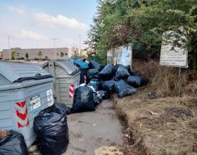 """In via Vecchia Torino abbandonati 58 sacchi di polistirene: """"Siamo al lavoro per rintracciare il responsabile"""""""