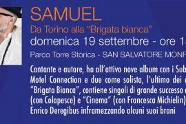 Domenica 19 settembre Samuel a San Salvatore per il Festival PeM
