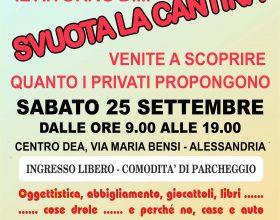"""Il 25 settembre """"Svuota la cantina"""" torna al quartiere Cristo di Alessandria"""