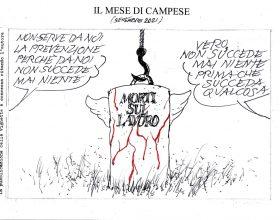 Le vignette di settembre firmate dall'artista Ezio Campese