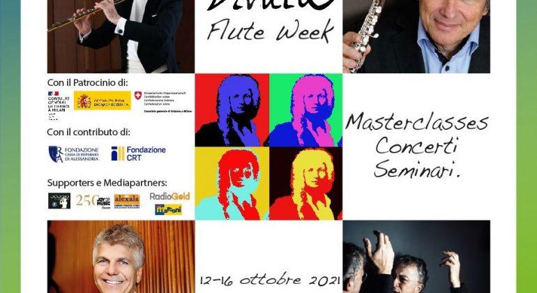 """Dal 12 al 16 ottobre la """"Vivaldi Flute Week"""" del Conservatorio di Alessandria"""