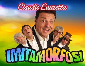 Claudio Lauretta a Vigevano con lo spettacolo ImitaMorfosi