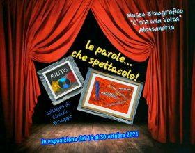 """Dal 16 al 30 ottobre alla Gambarina la mostra """"Le parole..che spettacolo!"""""""