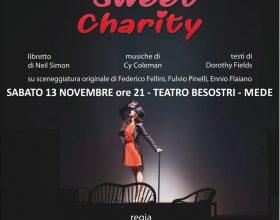 """Il 13 novembre """"Sweet charity"""" in scena al Teatro Besostri di Mede"""