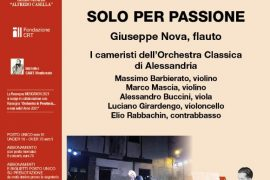 """""""MusicaNovi"""": il 29 ottobre il concerto """"Solo per passione"""""""