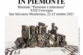 Il 22 e 23 ottobre la XXII edizione della Biennale Piemonte Letteratura