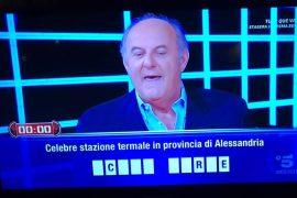 """A """"Caduta libera"""" su Canale 5 una domanda anche su Acqui Terme"""