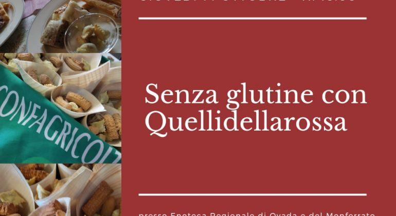 Celiachia: il 14 ottobre apericena all'Enoteca di Ovada con Agriturist