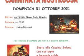 """Il 31 ottobre """"Camminata mostruosa"""" a Occimiano"""