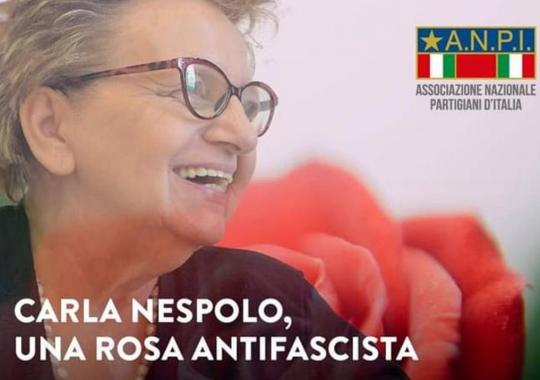 Il 23 ottobre l'Anpi ricorda Carla Nespolo alla Casa di Quartiere di Alessandria
