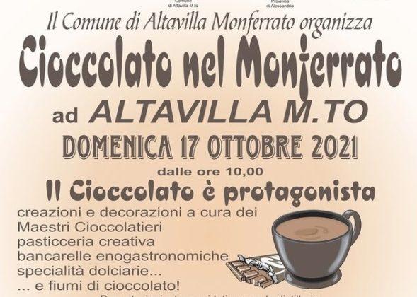 Domenica 17 ottobre il cioccolato è protagonista ad Altavilla Monferrato