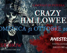 Il 31 ottobre Crazy Halloween: dinner show e visita al Castello di Piovera